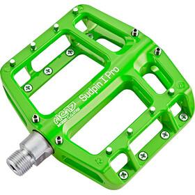 NC-17 Sudpin I Pro bmx pedalen groen